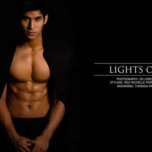 MODEL FEATURE: LIGHTS OUT WITH MAURO LUMBA