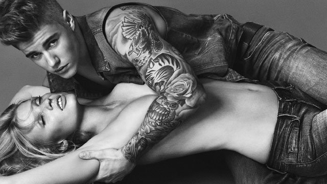JUSTIN BIEBER IS THE NEW FACE OF CALVIN KLEIN