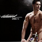 AURELIEN MULLER STRIPS FOR BRIAN ATWOOD'S SPRING 2015 COLLECTION