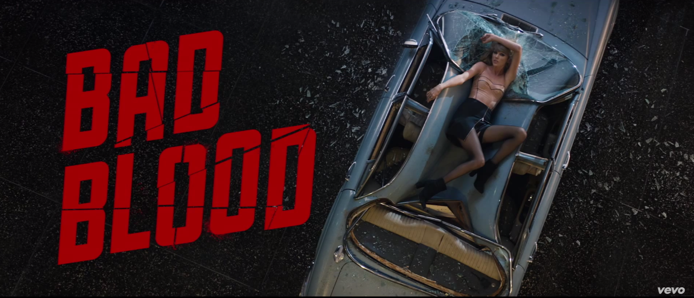 TAYLOR SWIFT RELEASES HER LATEST VIDEO BAD BLOOD