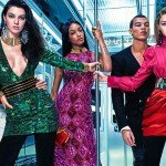 BALMAIN x H&M campaign features JENNER, HADID AND DUNN