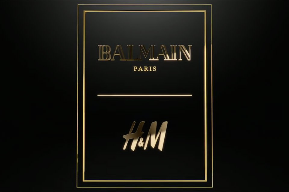 SO FAR THESE ARE THE THINGS WE KNOW ABOUT BALMAIN x H&M