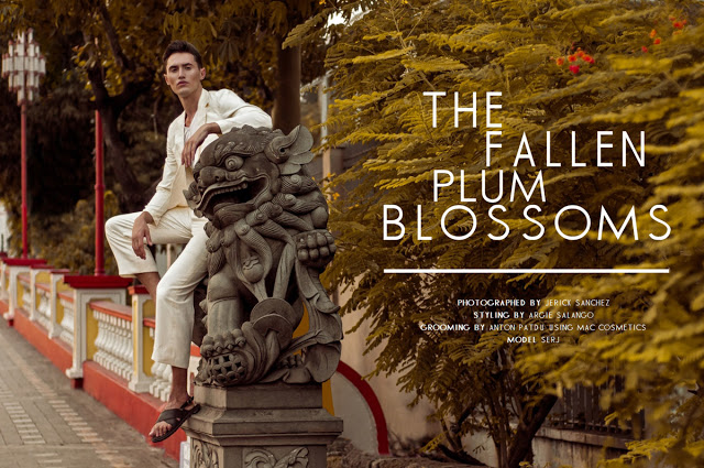 STYLE MNL EDITORIAL: THE FALLEN PLUM BLOSSOMS BY JERICK SANCHEZ