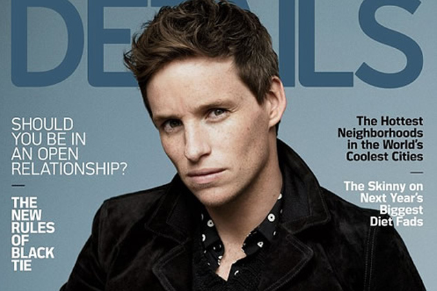EDDIE REDMAYNE GRACES THE LAST COVER OF DETAILS MAGAZINE