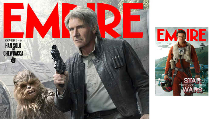 NOW AVAILABLE! STAR WARS: THE FORCE AWAKENS COLLECTIBLE COVERS