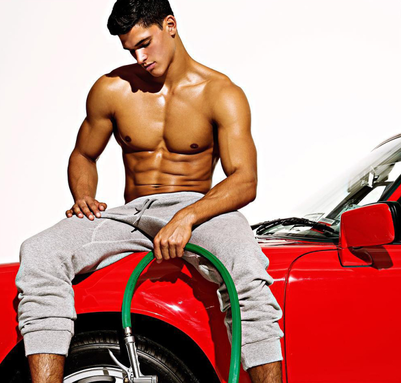 HALF FILIPINO HUNK BANNERS THE LATEST CAMPAIGN FOR CHARLIE BY MZ