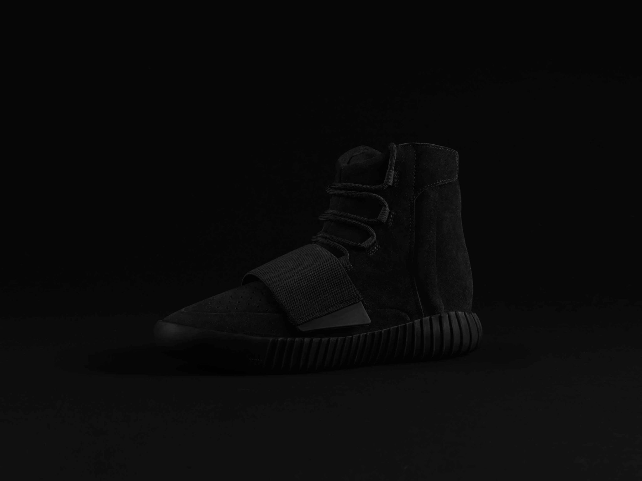 purchase cheap 59e62 985ff adidas Originals by Kanye West: YEEZY BOOST 750 IN ALL BLACK ...