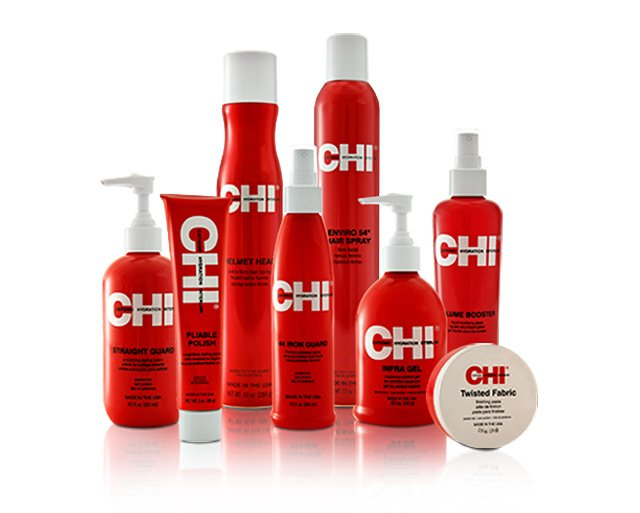 One-year supply of haircare products and tools from CHI Haircare