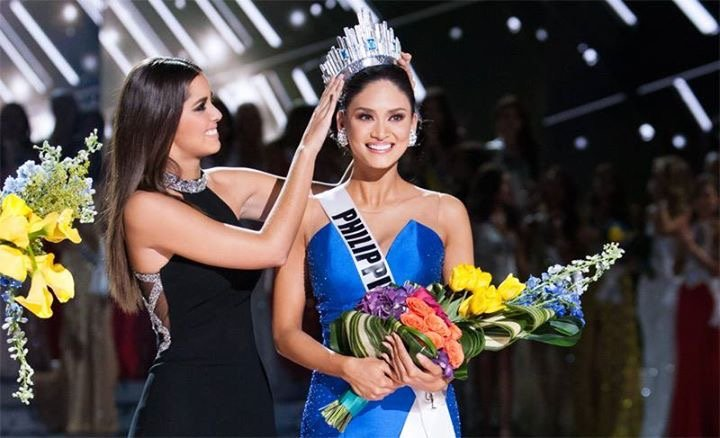 PIA WURTZBACH OF THE PHILIPPINES BAGGED THE MS. UNIVERSE CROWN