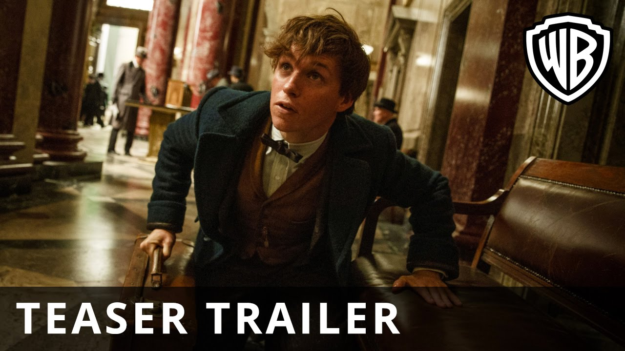 """""""FANTASTIC BEASTS AND WHERE TO FIND THEM"""" OFFICIAL TRAILER IS HERE!"""