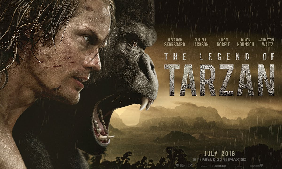 THE LEGEND OF TARZAN DEBUT TRAILER FEATURES A JACKED UP ALEXANDER SKARSGARD