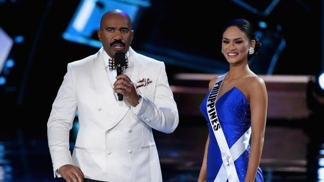 STEVE HARVEY SIGNED A MULTI-YEAR DEAL WITH MISS UNIVERSE