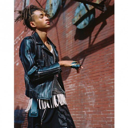 STYLEMNL: JADEN SMITH IS THE NEW FACE OF LV WOMENSWEAR
