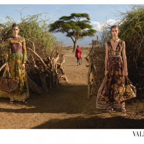 SEE KENYA IN VALENTINO SPRING 2016 CAMPAIGN