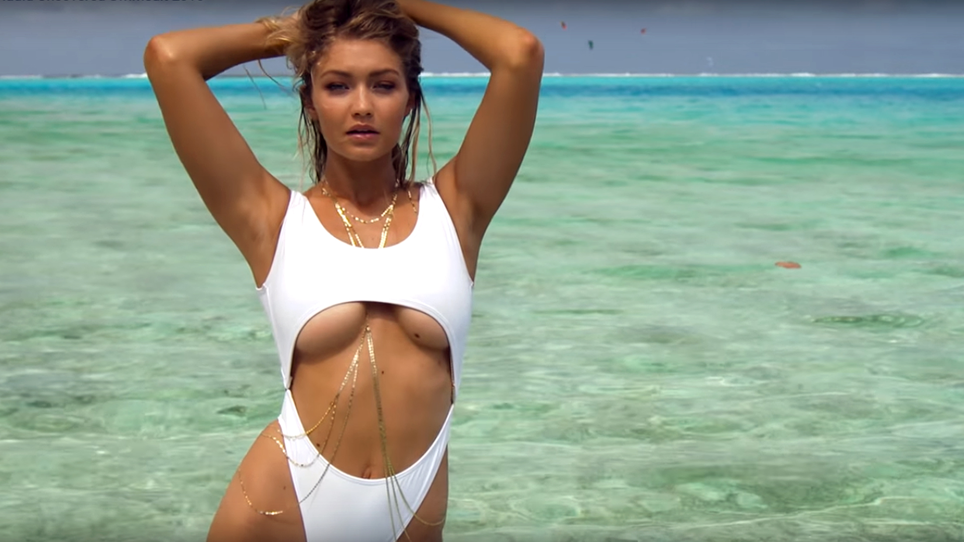 GIGI HADID FOR SPORTS ILLUSTRATED SWIMSUIT ISSUE 2016
