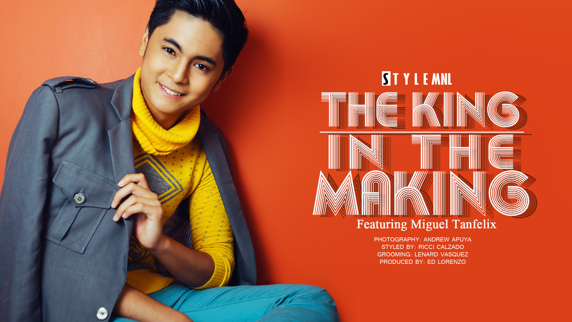 Miguel Tanfelix for STYLEMNL