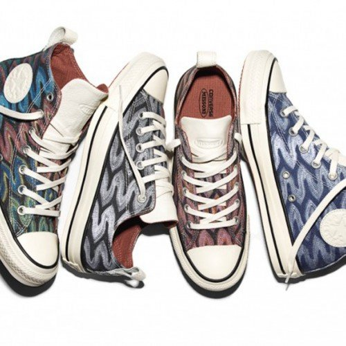 CONVERSE AND MISSONI TEAMS UP FOR NEW SPRING SNEAKERS COLLECTION 2016