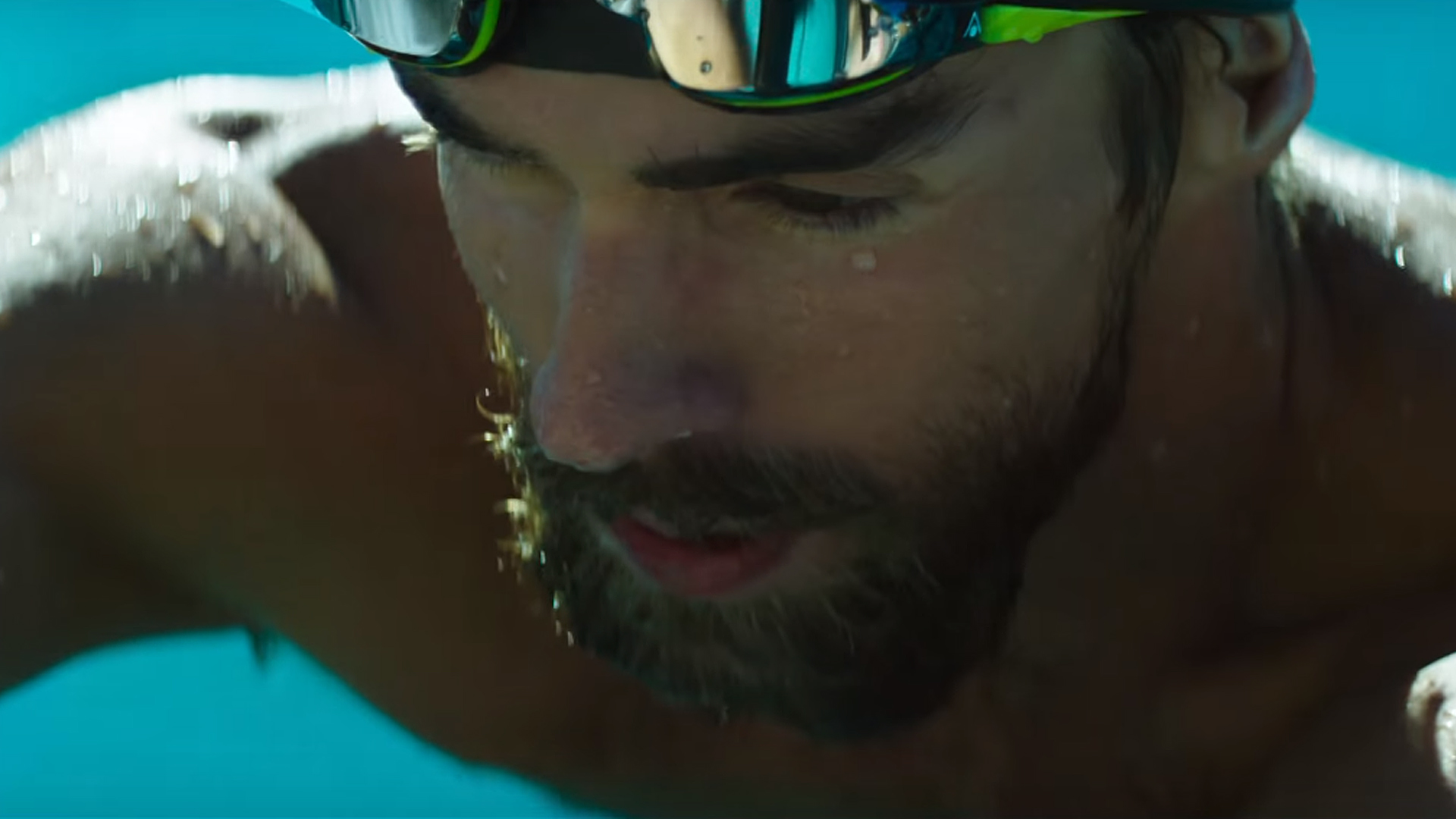 "UNDER ARMOUR FEATURES PHELPS IN THE LATEST ""RULE YOURSELF"" MATERIAL"