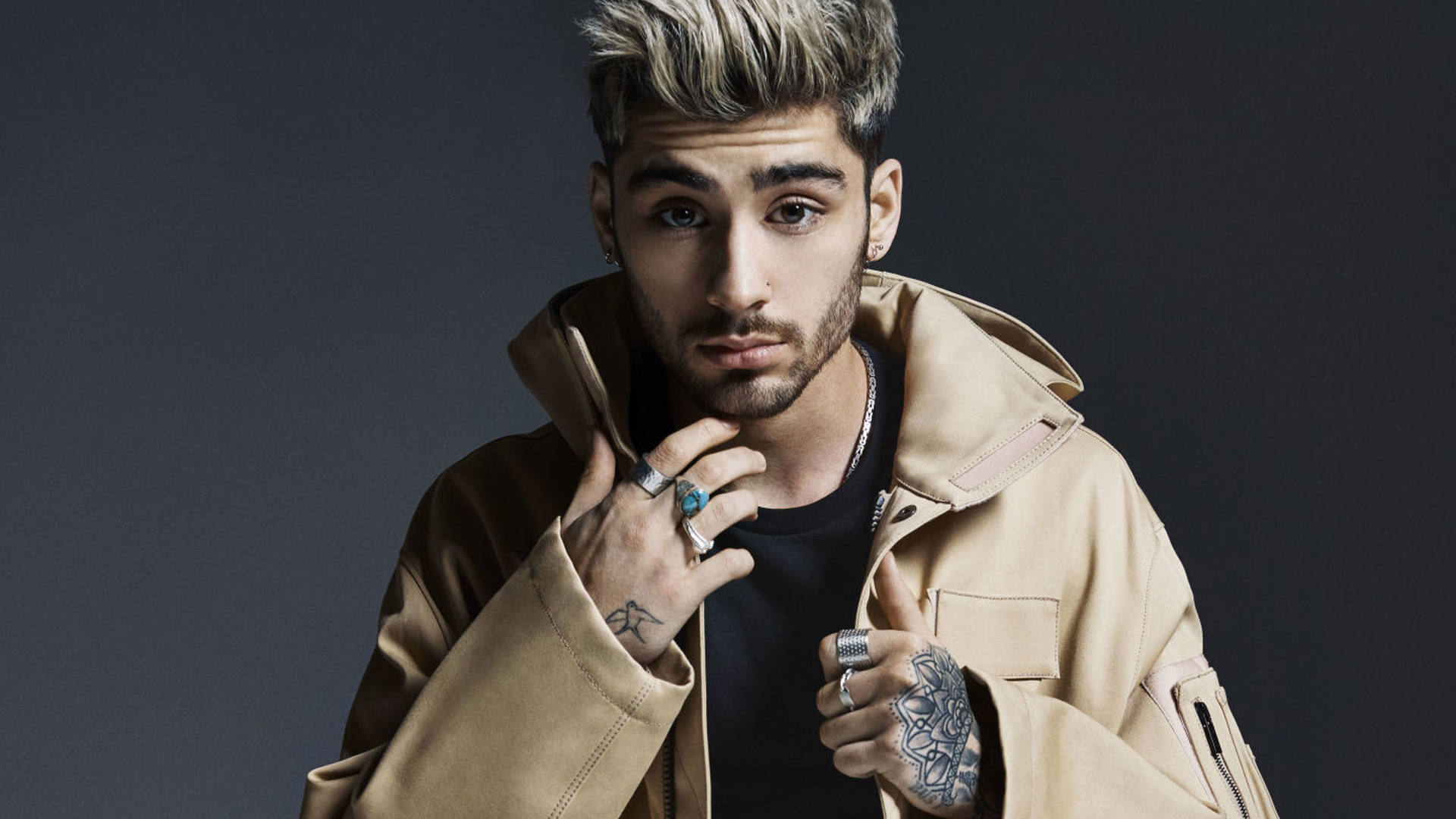 "LISTEN TO ZAYN MALIK'S THIRD SINGLE ""LIKE I WOULD"""