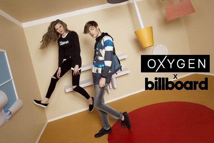 OXYGEN x BILLBOARD WILL TURN YOU UPSIDE DOWN