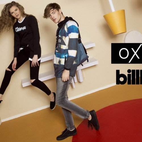 OXYGEN x BILLBOARD COLLECTION WILL TURN YOU UPSIDE DOWN