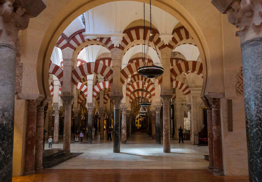 #6 MOSQUE-CATHEDRAL OF CORDOBA