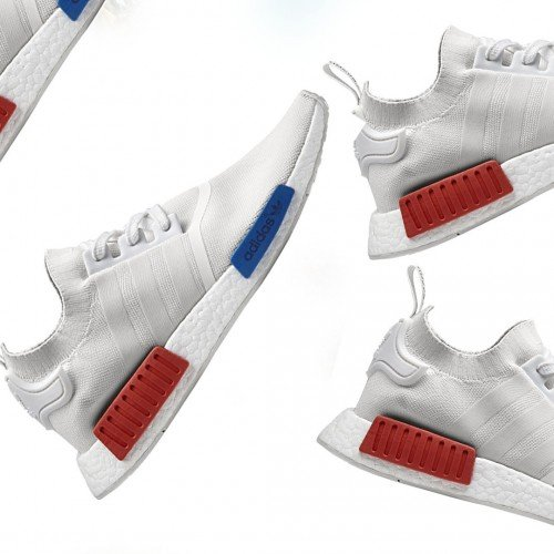 ADIDAS PRESENTS NMD R1 PK WHITE