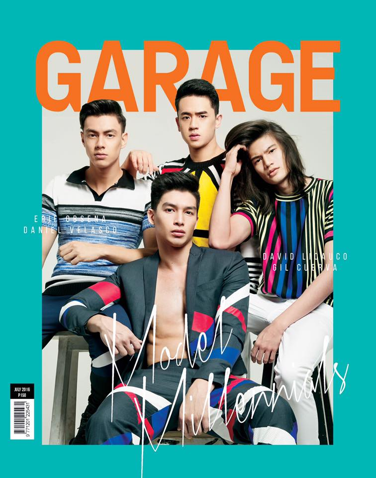 GARAGE MAGAZINE FEATURES MILLENIAL MODELS IN THEIR JUNE 2016 COVER