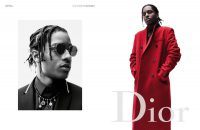 A$AP ROCKY ALONG WITH OTHER STARS FRONTS THE LATEST CAMPAIGN OF DIOR FALL 2016