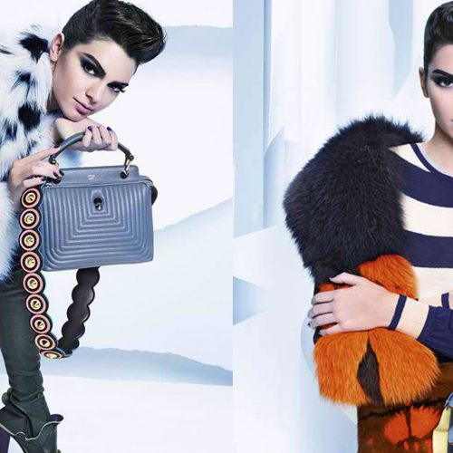 KENDALL JENNER FRONTS THE LATEST FENDI FW 2016 CAMPAIGN