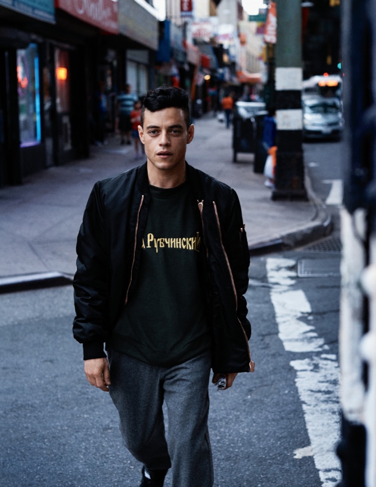 MR. ROBOT, RAMI MALEK IS FEATURED IN THE PAGES OF INTERVIEW MAGAZINE AUGUST ISSUE