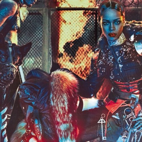 RIHANNA IS THE LAST WOMAN STANDING FOR W MAGAZINE