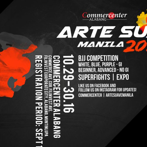 EXPERIENCE THE ART OF BRAZILIAN JIUJITSU WITH ARTESUAVE MANILA 2016
