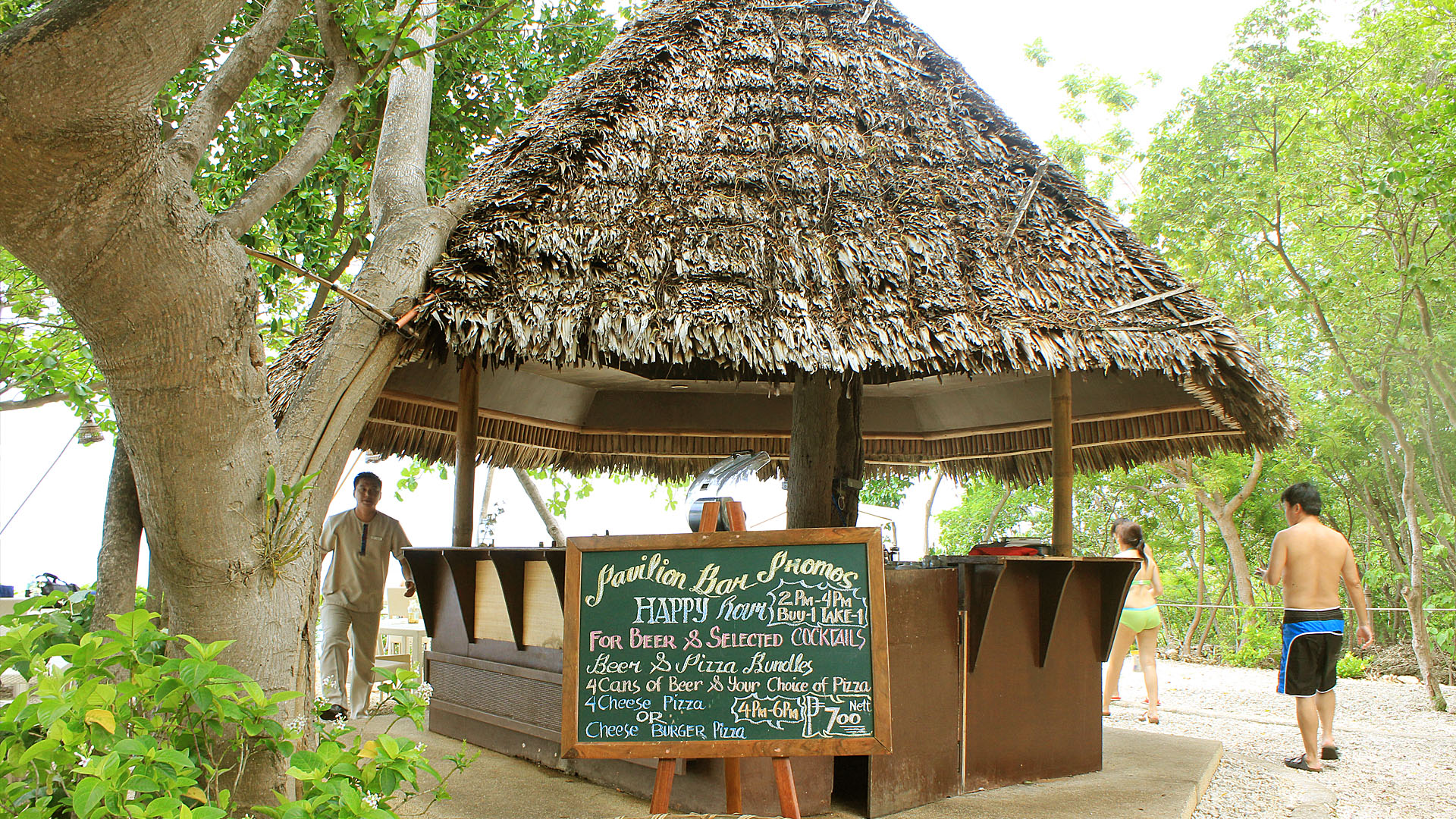 pavilion-hut