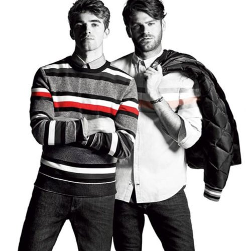 THE CHAINSMOKERS FRONTS THE LATEST CAMPAIGN OF Tommy Hilfiger