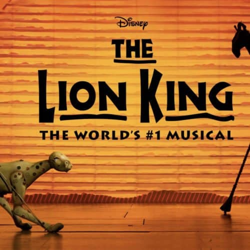 BROADWAY MUSICAL THE LION KING TICKETS GO ON SALE STARTING NOVEMBER 3