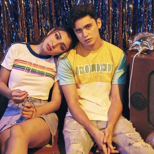 JAMES REID AND NADINE LUSTRE FRONTS THE LATEST HOLIDAY CAMPAIGN OF FOLDED & HUNG