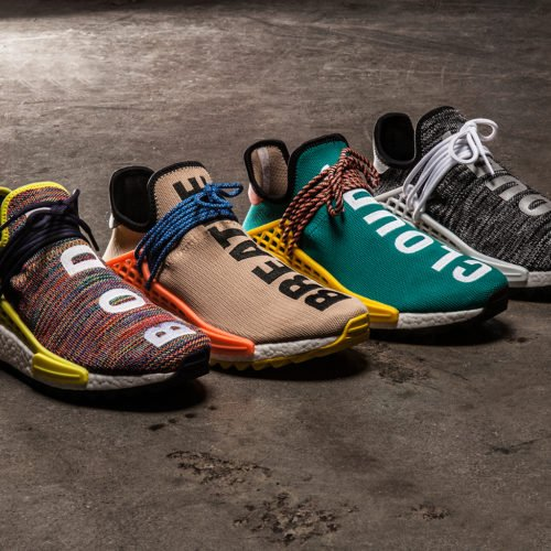 PHARELL x ADIDAS NMD HU COLLECTION DROPS THIS WEEKEND