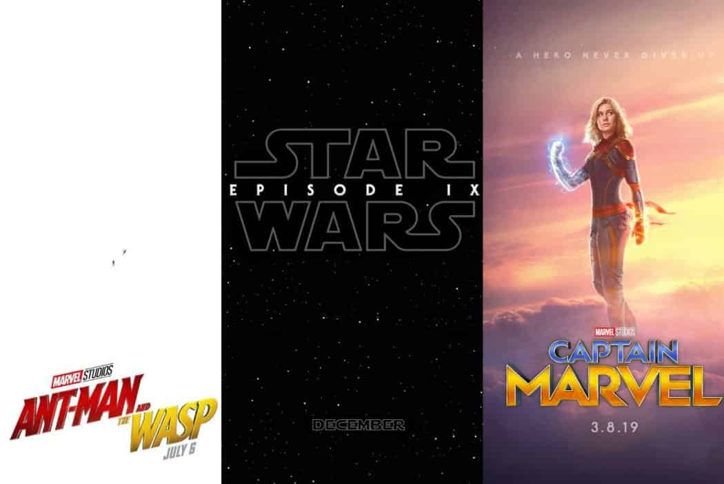 marvel and disney announces theatrical release dates