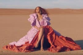 BEYONCE RELEASES VIDEO FOR SPIRIT