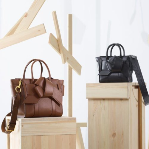 ACNE STUDIOS & MULBERRY TEAMS UP ON A UNIQUE COLLECTION OF BAGS