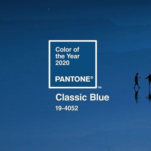 PANTONE NAMED CLASSIC BLUE AS THE COLOR OF THE YEAR 2020