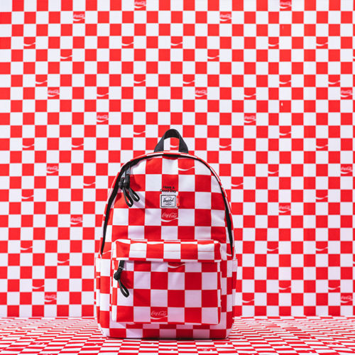 HERSCHEL SUPPLY X COCA-COLA IS GIVING US SUMMER VIBES AS EARLY AS NOW