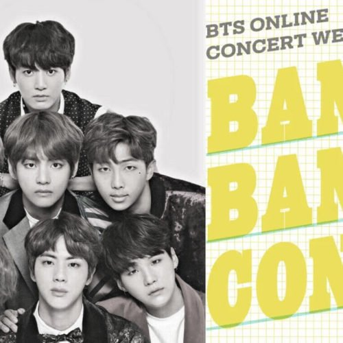 K-POP SUPERSTARS BTS WILL HAVE A 2 DAY ONLINE STREAMING CONCERT FOR FREE