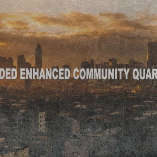 IT'S OFFICIAL ENHANCED COMMUNITY QUARANTINE IS EXTENDED UNTIL MAY 15