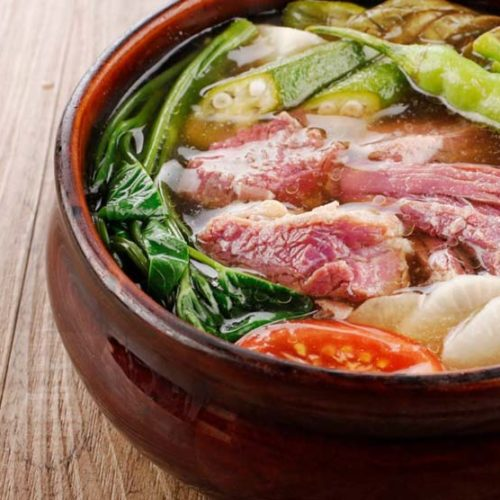 SENTRO 1771 DISHES OUT SECRET RECIPE ON HOW TO COOK 'SINIGANG NA CORNED BEEF' AT HOME