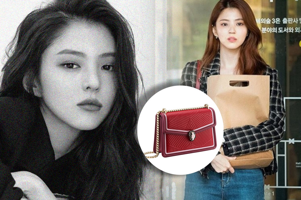 HAN SO-HEE'S SERPENT DESIGNER BAG IS FITTED FOR HER CHARACTER AS DA KYUNG IN A WORLD OF MARRIED COUPLE