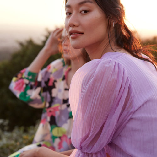 H&M NEW COLLECTION OF DRESSES IS MADE FROM SUSTAINABLY-SOURCED MATERIALS