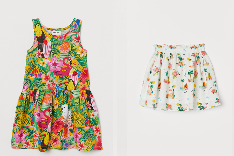 H&M RELEASES A SUSTAINABLE CAPSULE COLLECTION FOR KIDS DESIGNED BY EMMA JAYNE