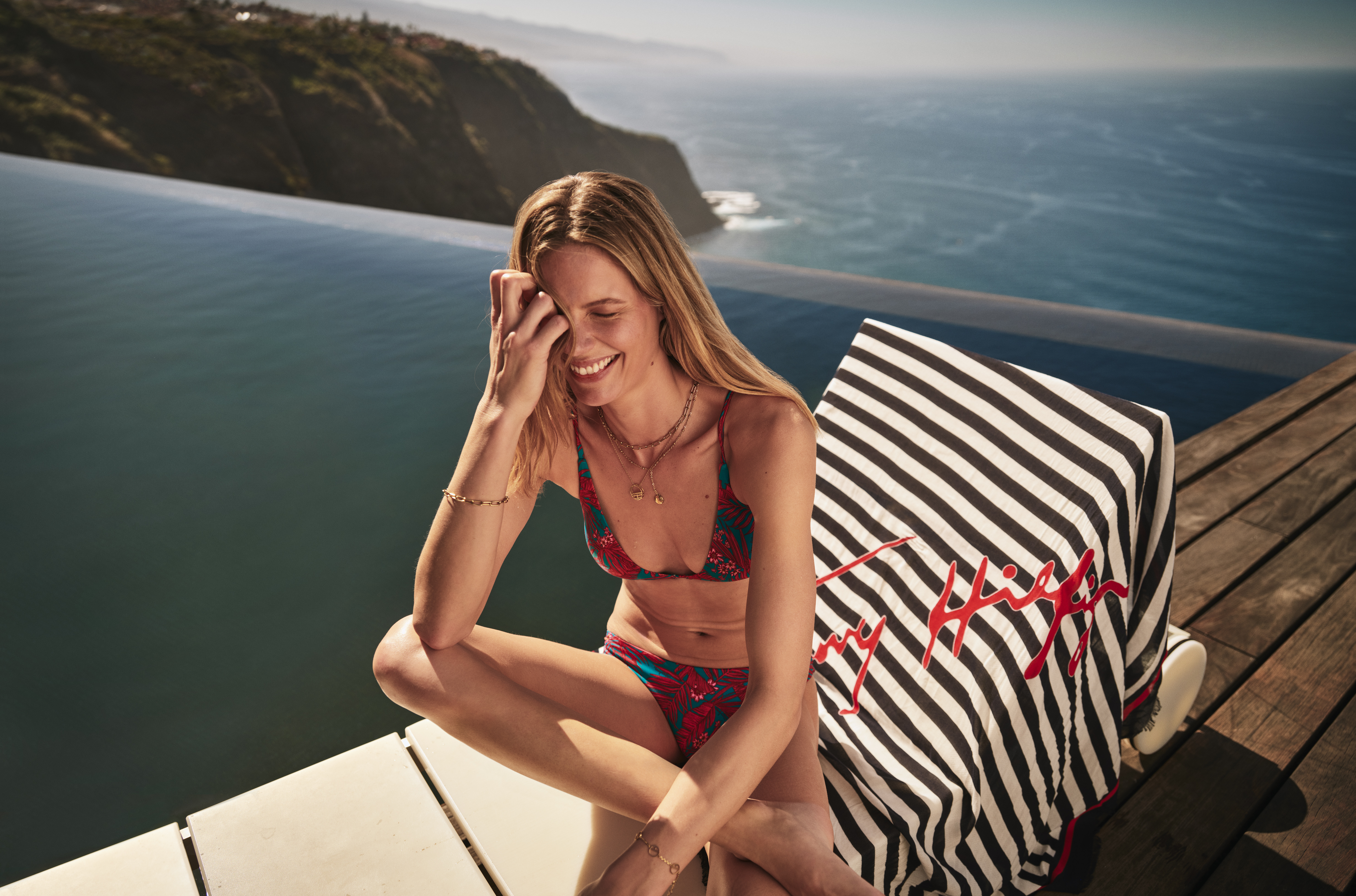 TOMMY HILFIGER RELEASES A SUSTAINABLE SWIMWEAR COLLECTION THIS SEASON